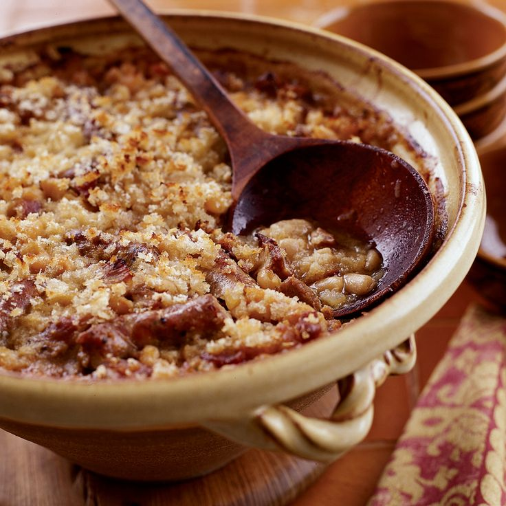 Toulouse style cassoulet recipe classic french dishes - French classical cuisine ...