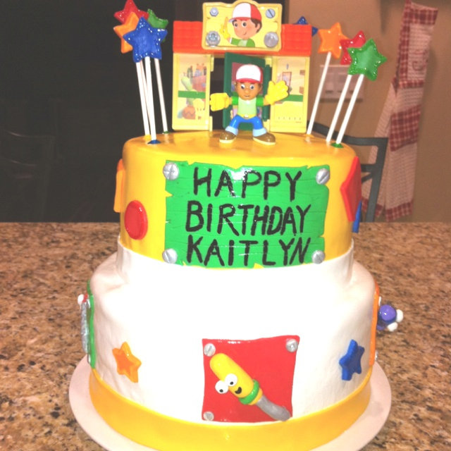 148 best images about party ideas on pinterest birthday for Handy manny decorations