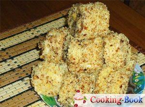 Рецепт: Пирожное Лакомка