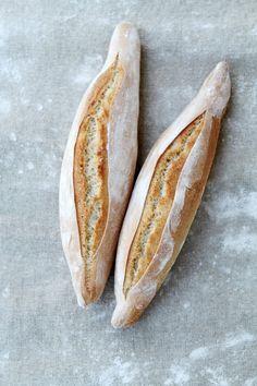 Pan tradicional para bocadillos