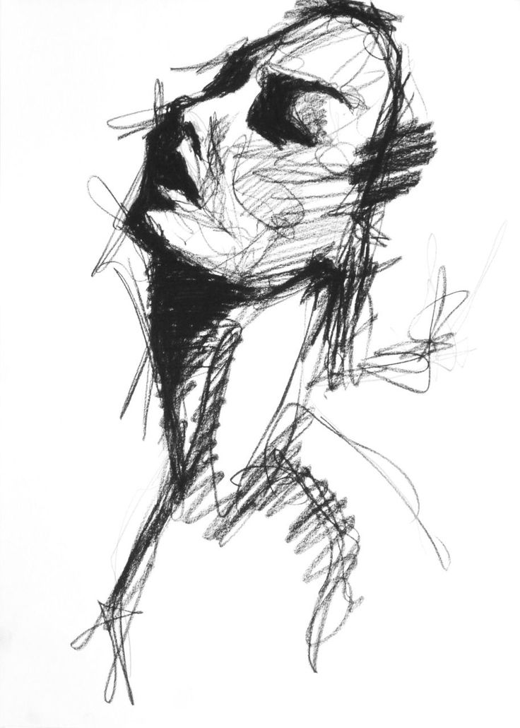 Charcoal no. 55  Lee Woodman 2012  (in private collection)