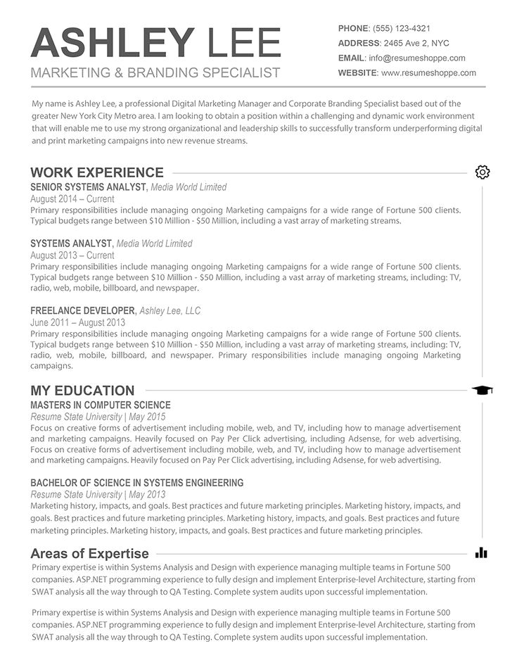 30+ Resume Templates for MAC – Free Word Documents Download | school ...