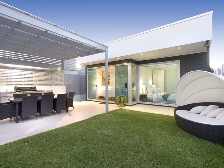 Outdoor living design with bbq area from a real Australian home - Outdoor Living photo 302868