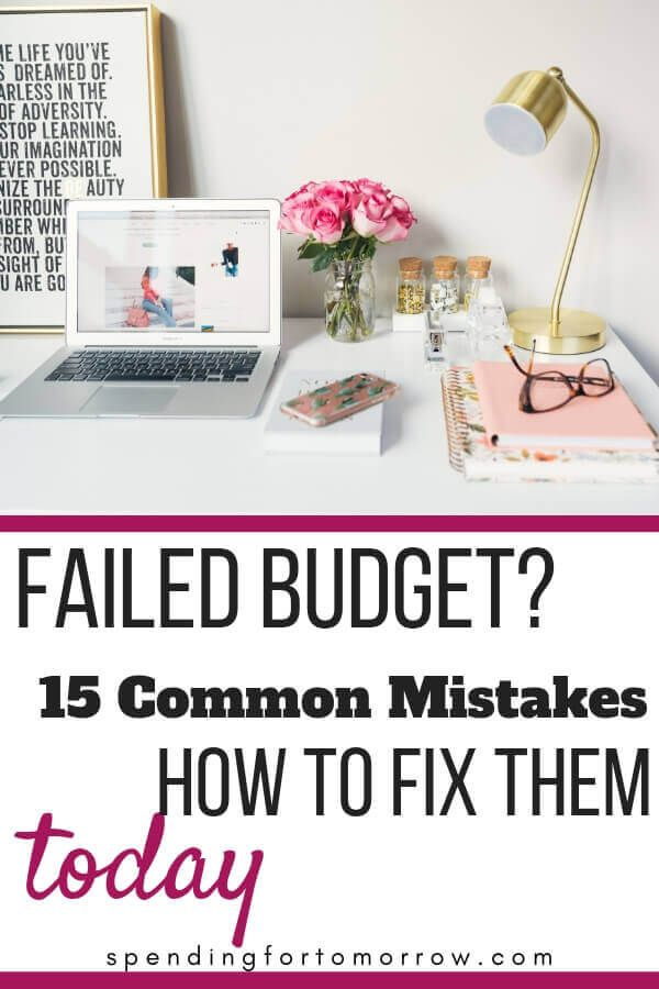 Top 15 Budgeting Mistakes Budgeting Monthly Budget Budgeting Money