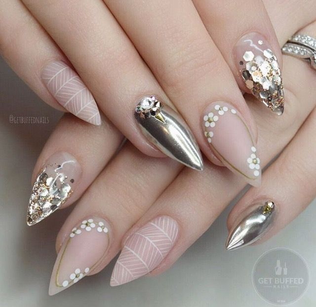 These nails are on point