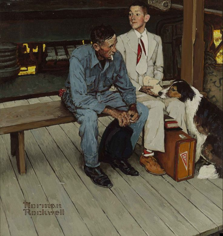 rockwell...breaking home tires 1954
