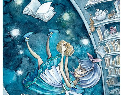 """Check out new work on my @Behance portfolio: """"Alice."""" http://be.net/gallery/44570451/Alice"""