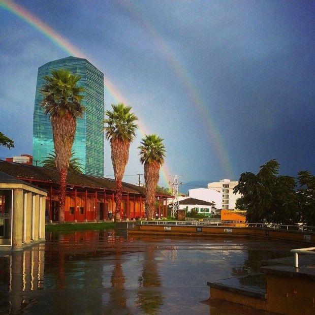 Manizales #rainbow #city #travel