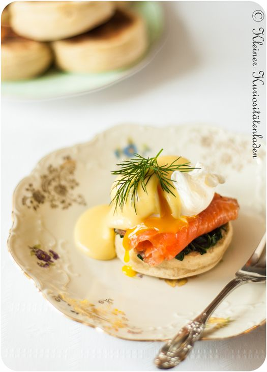Eggs Benedict und Eggs Florentine