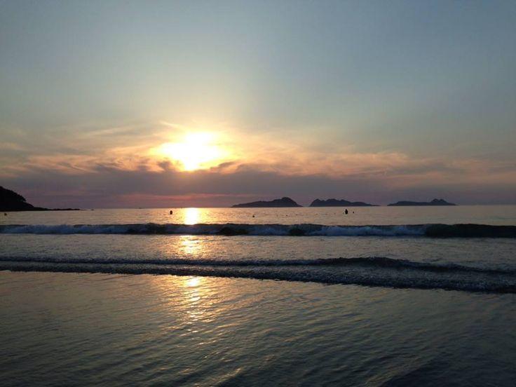 Sunset  Patos-Nigrán