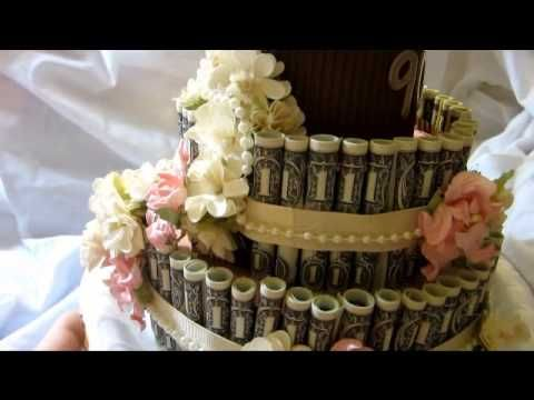 Money Cake Idea For Grandma S 90th Birthday Youtube