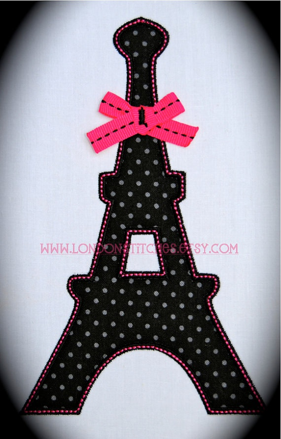 Personalized Eiffel Tower Paris Shirt or Onesie by LondonStitches, $22.00