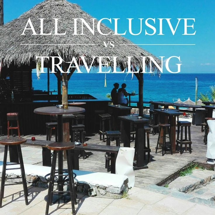 why all inclusive is not a crime against the traveling?  Olimpic Rivera, Greece. blondeonholidays.com