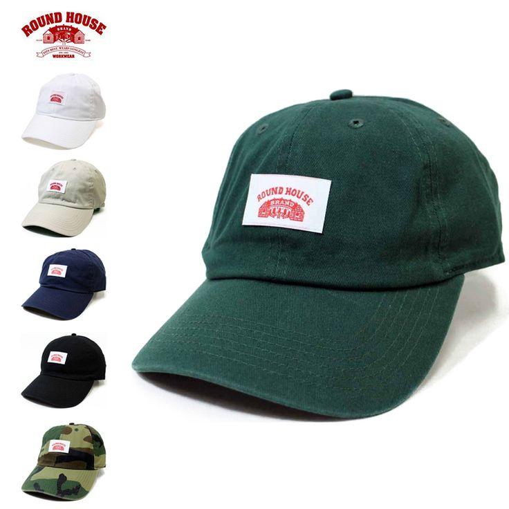 Round House ラウンドハウス LB-157-03047 WASHED ツイル ベースボールキャップ #ミリタリーセレクトショップWIP #MILITARY #帽子 #hat #ハット