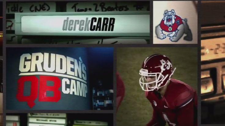 #news#WorldNewsESPN News: Watch Derek Carr in Gruden's QB Camp | ESPN Archives