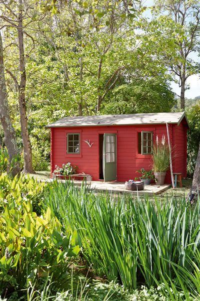 Une maisonnette en bois pour l'été