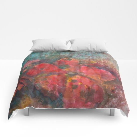 Flowers decaying Comforters.  $99