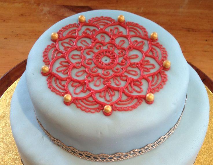Mehndi Inspired Cake : Best music note cakes images cake