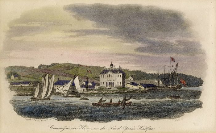 Commissioners House, in the Naval Yard, Halifax (Nova Scotia)