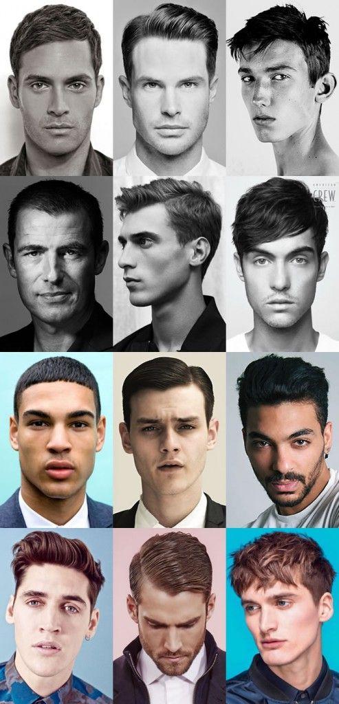 Peinados de hombre para cabello corto: 2015
