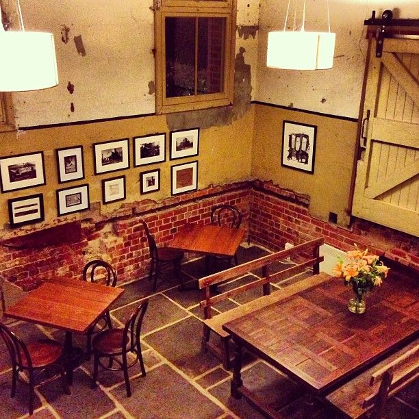 #ShareIG In 1901 the delivery room of the Euroa Butter Factory, 112 years on and this place has kept it's name but now offers something very different! This evening our own private dining room with a log fire.....looking forward to a delicious dinner. #euroa #euroabutterfactory #centralvictoria