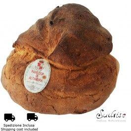 Pane di Altamura DOP Ingredienti:semola di grano duro, pasta rifermentata, sale e acqua.