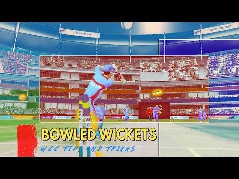 wcc2 How to take bowled wickets and LBW wickets with Fast Bowling | FAST BOWLING TIPS In HINDI - (More info on: https://1-W-W.COM/Bowling/wcc2-how-to-take-bowled-wickets-and-lbw-wickets-with-fast-bowling-fast-bowling-tips-in-hindi/)
