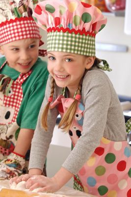 Penny is teaching her kids cooking class now. All the kids have so much fun. And it's adorable seeing them learn how to make cookies and pies.