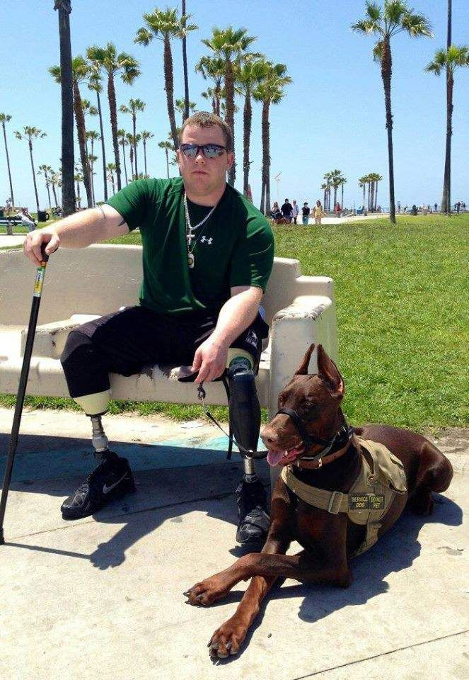 About Five Months Ago Tyler Jeffries Received His Service Dog A