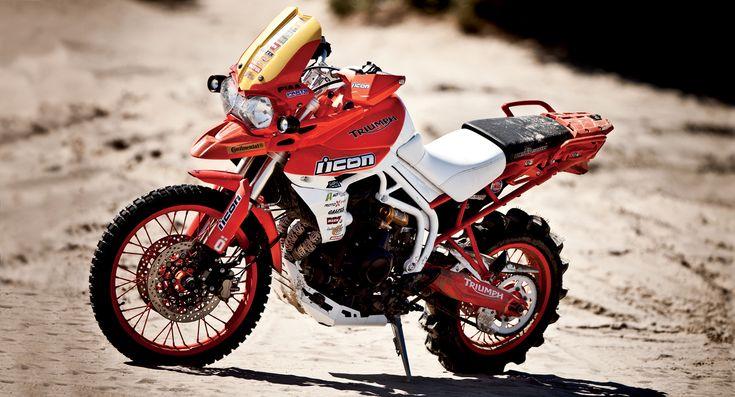 Portland Dakar Triumph Tiger 800XC