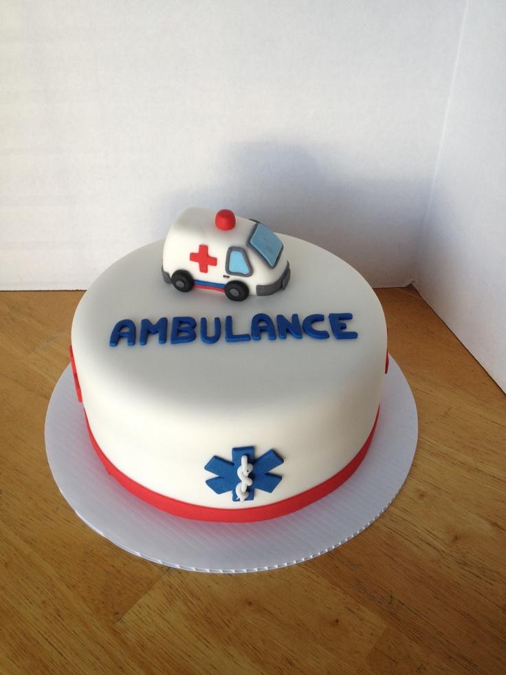 Ambulance cake