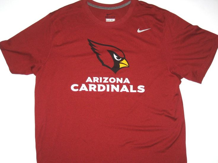 NFL Jerseys Cheap - Ryan Spadola Player Issued Arizona Cardinals #18 ��TRUST LOYALTY ...