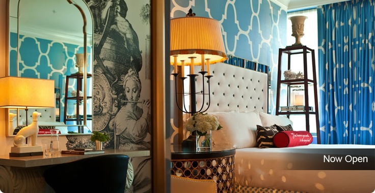 The newly opened Hotel Monaco Philadelphia couples artful design with historic flare. So pretty! http://vstphl.ly/IausvR
