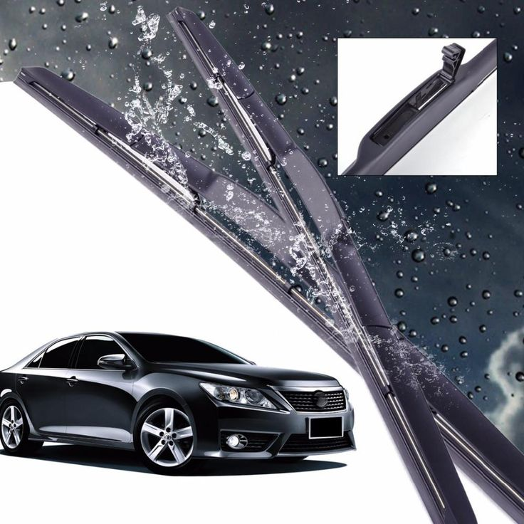"""New Hot Sale 24""""+20"""" Hybrid 3 Section Rubber Rain Window Windshield Wiper Blade For Toyota Camry 2006 2007 2008 2009 2010 2011"""