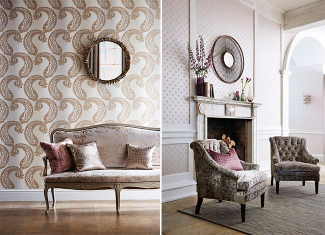 Harlequin - Designer Fabric and Wallcoverings | Leonida Wallpapers - Fabric Wallpaper Australia / The Ivory Tower