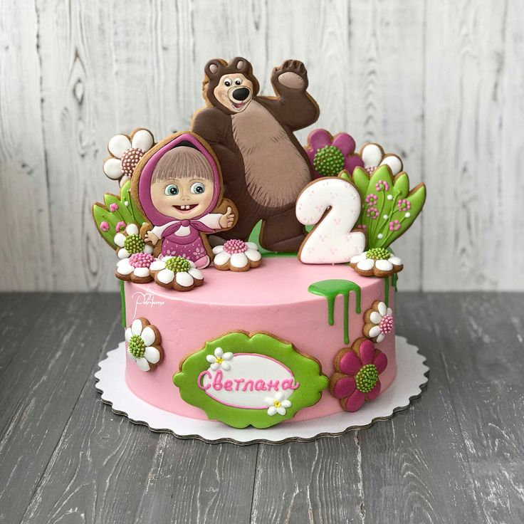 Торт маша рецепт с фото пошагово модели