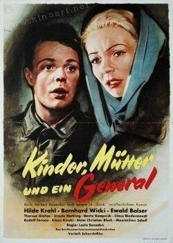 Kinder, Mütter und ein Generalist ein deutscher Spielfilm aus dem Jahr 1955. Der Film entstand nach einem Roman vonHerbert Reinecker.   Im VerleihbezirkDüsseldorf lief der Film auch unter dem TitelHauen Sie ab mit Heldentum.