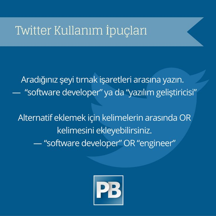 Diğer sosyal medya kanallarına göre yüksek oranda aktif kullanıcısı olan Twitter'ı işe alımlarda verimli kullanabilmek için ipuçları  . . . . . #twitter #ipucu #işealım #recruitment #İK