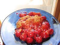 easy recipe for cherry crisp