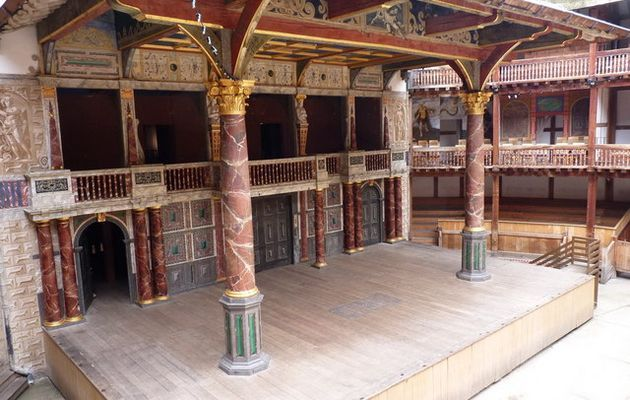 The Globe Theatre  in London is another great example of history that has lead to the amazing arenas we have today.