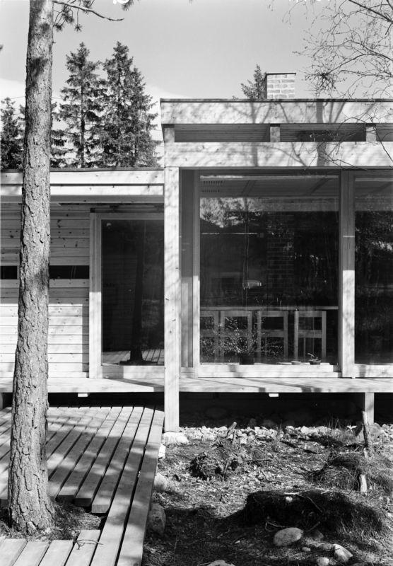 Architecture Photography of Villa Schreiner by Teigens Fotoatelier, 1963. DEXTRA Photo, CC BY