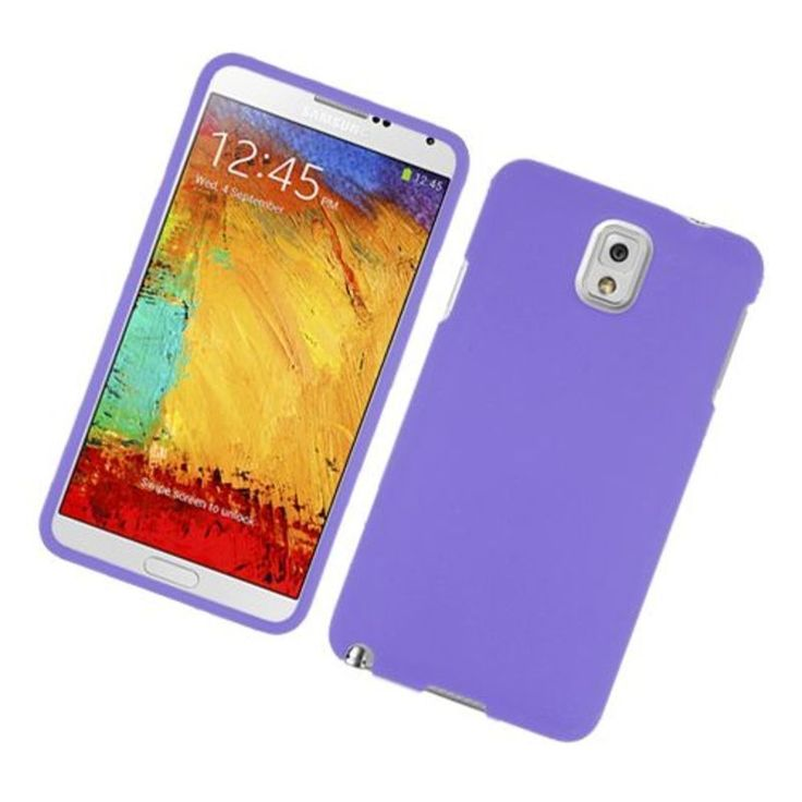 Insten Hard Snap-on Rubberized Matte Case Cover For Samsung Galaxy Note 3