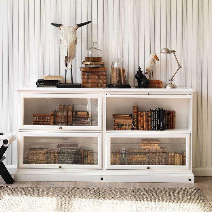Die besten 25+ Wohnzimmerschrank weiß Ideen auf Pinterest Träume - Wohnzimmermöbel Weiß Landhaus