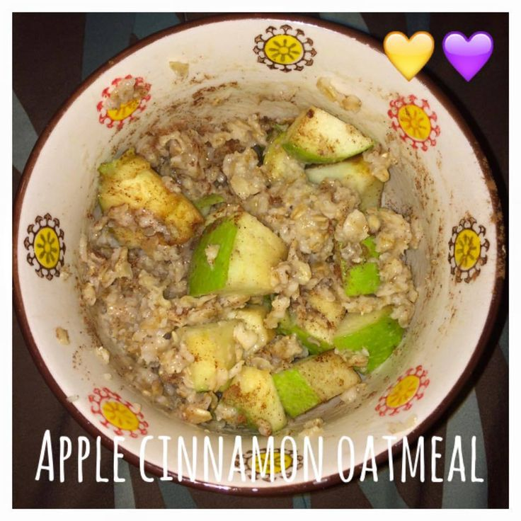 Serves 1 Container Equivalents (per serving): 1 Yellow, 1 Purple Ingredients 1 small apple, chopped 1/2 cup rolled oats, cooked 1 cup water 1 teaspoon raw honey 1/2 teaspoon ground cinnamon 1. In a…
