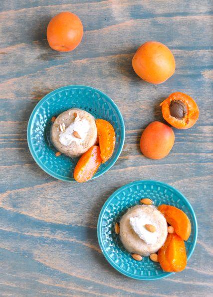 CHILI & VANILIA: Török grízes desszert vaníliás sárgabarackkal