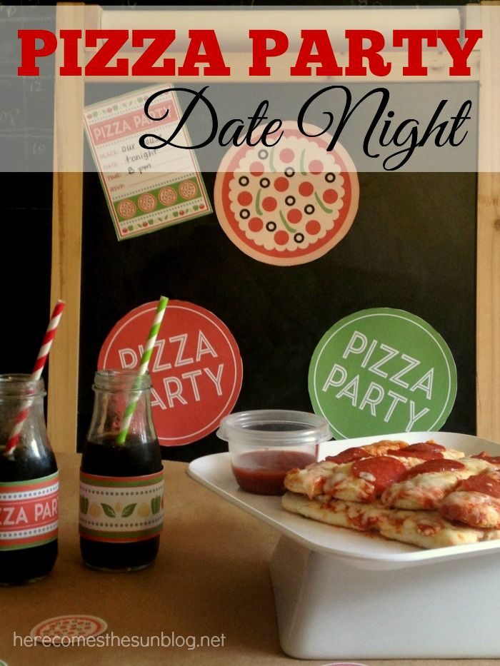 Pizza dating