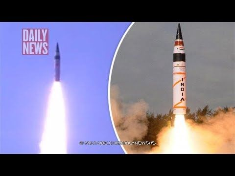 India shocks world by firing ICBM capable of striking China to become global NUCLEAR POWER INDIA has successfully launched its most advanced intercontinental ballistic missile (ICBM) capable of striking anywhere in China, the Indian Defence Ministry has revealed. Original content:...