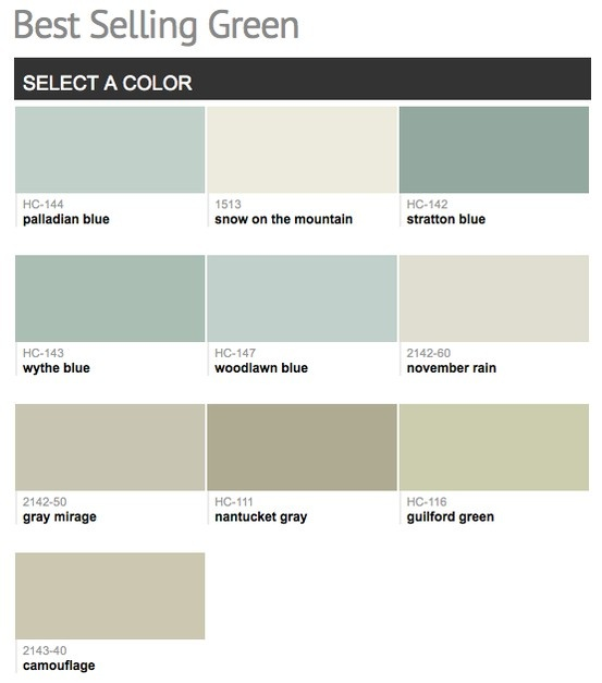 Most Popular Kitchen Paint Colors: 190 Best Images About Benjamin Moore & Sherwin Williams