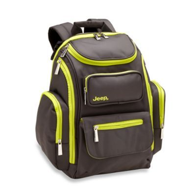 jeep perfect pockets backpack diaper bag bags like you and diaper bags. Black Bedroom Furniture Sets. Home Design Ideas