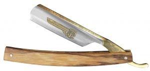 """TIMOR  Rasiermesser 6/8"""" Heft aus Bocote-Holz"""